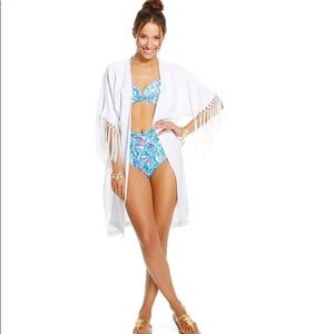 NWOT Lilly Pulitzer For Target White Kimono